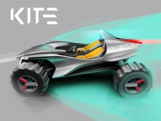 Turin IED and Hyundai preview Kite buggy concept