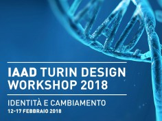 IAAD Turin Design Workshop 2018