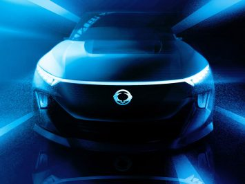 SsangYong teases e-SIV electric SUV Concept