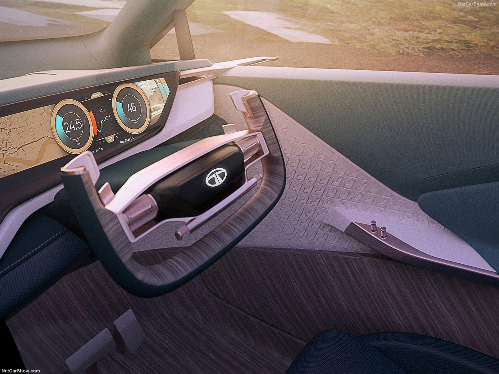 Tata 45x Concept Inteior Steering Wheel Car Body Design