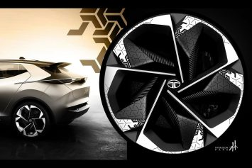 Tata 45X Concept Wheel Design