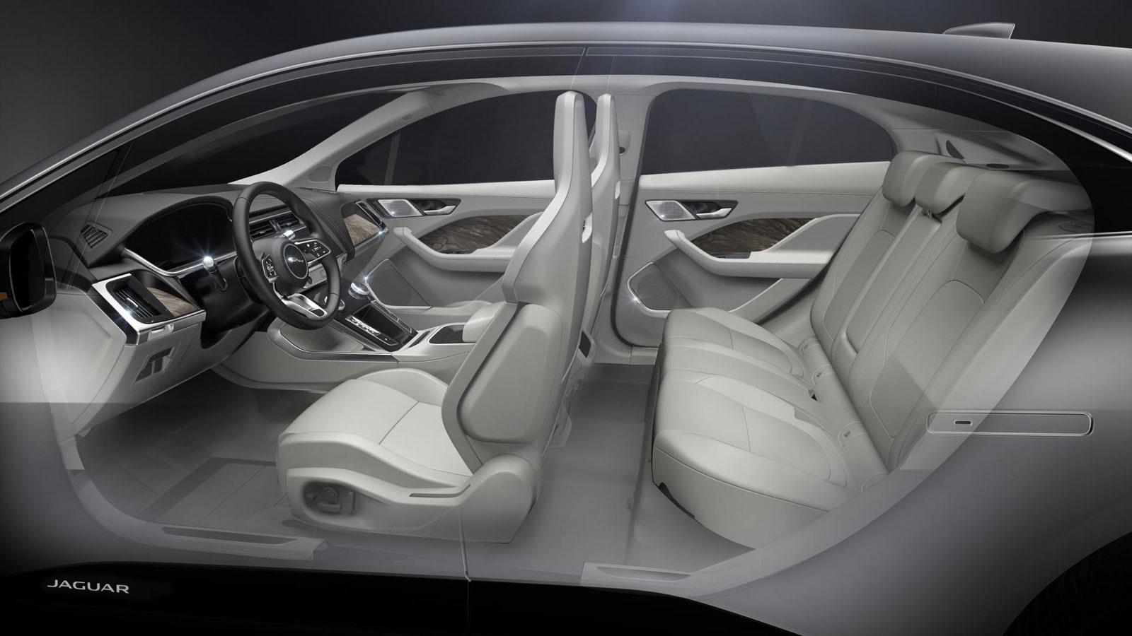 jaguar i pace interior design render