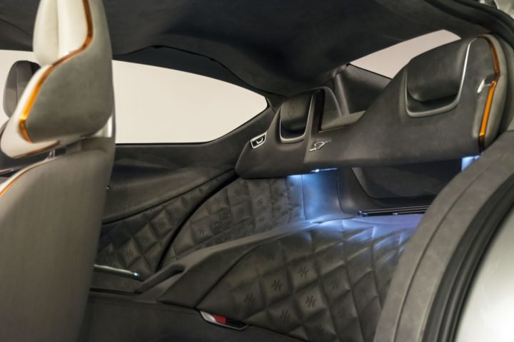 Pininfarina HK GT Interior Rear seats