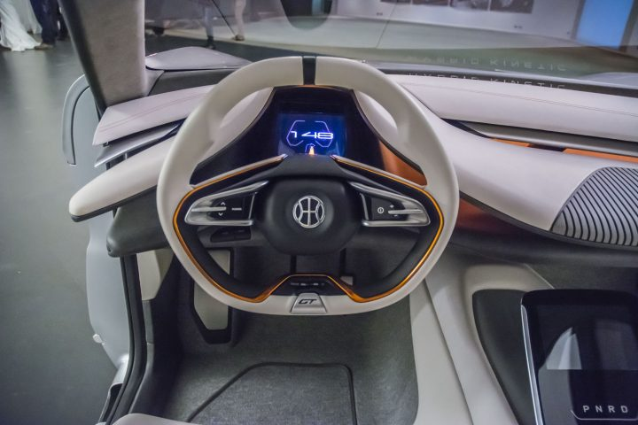 Pininfarina HK GT Interior Steering Wheel