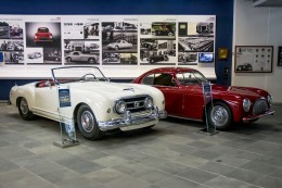 1952 Nash Healey Spider and 1946 Cisitalia 202 by Pininfarina