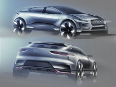 Jaguar I-PACE: the design
