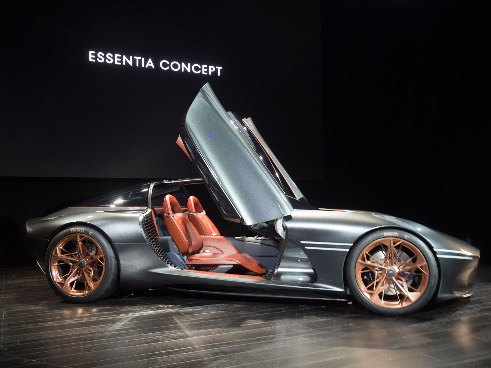 Genesis Essentia Concept at the 2018 New York Auto Show