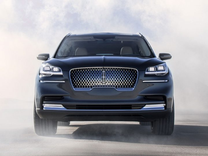 Lincoln Aviator Concept previews upcoming hybrid SUV