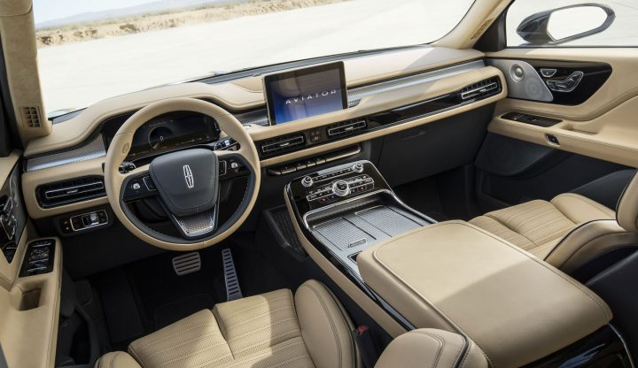 Lincoln Aviator Concept Interior