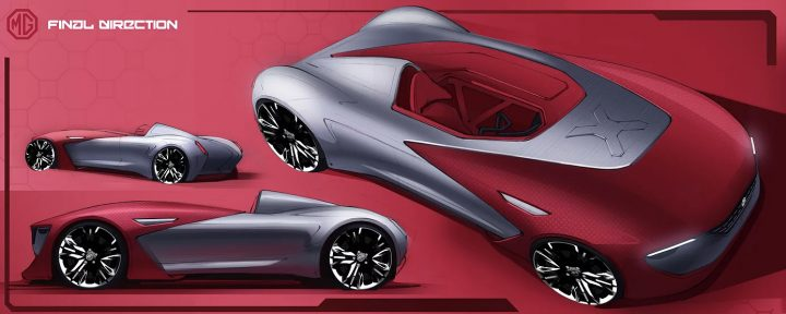 MG Concept Design Sketches by Alexey Andreev