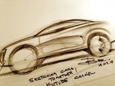 Luciano Bove on the basics of car drawing