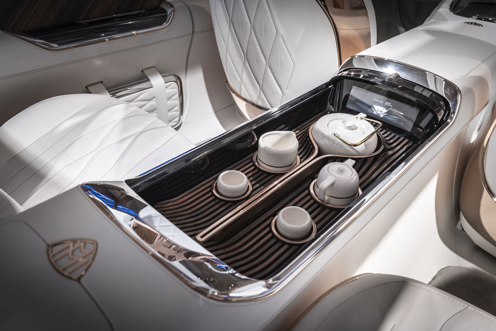 Vision Mercedes Maybach Ultimate Luxury Concept At Auto