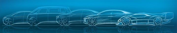 Volkswagen I.D. Concept Cars Design Sketches
