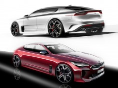 Kia Stinger: Design Gallery