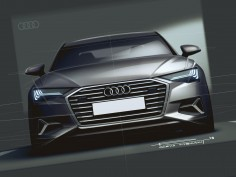 Audi Car Body Design