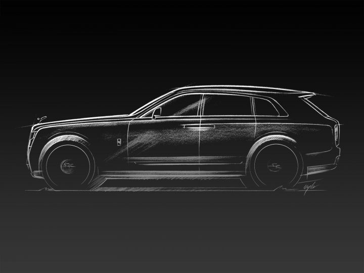 Rolls-Royce Cullinan SUV revealed