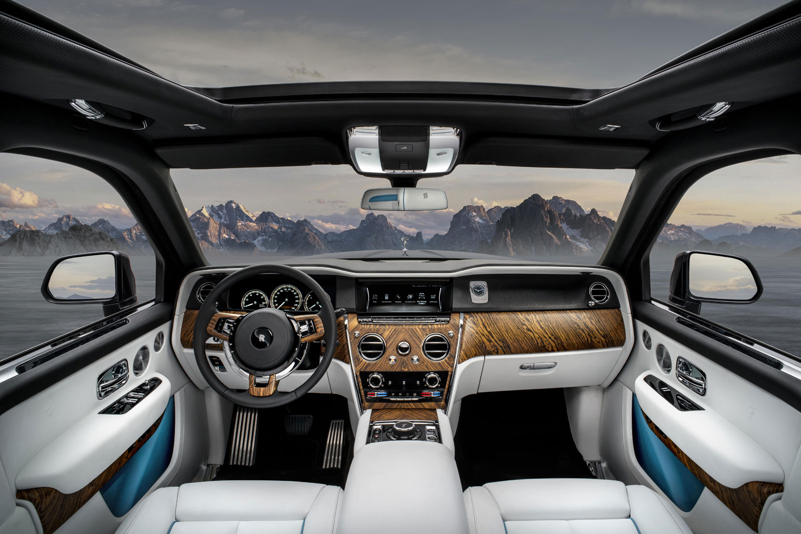 Rolls Royce Cullinan Tg Interior Car Body Design