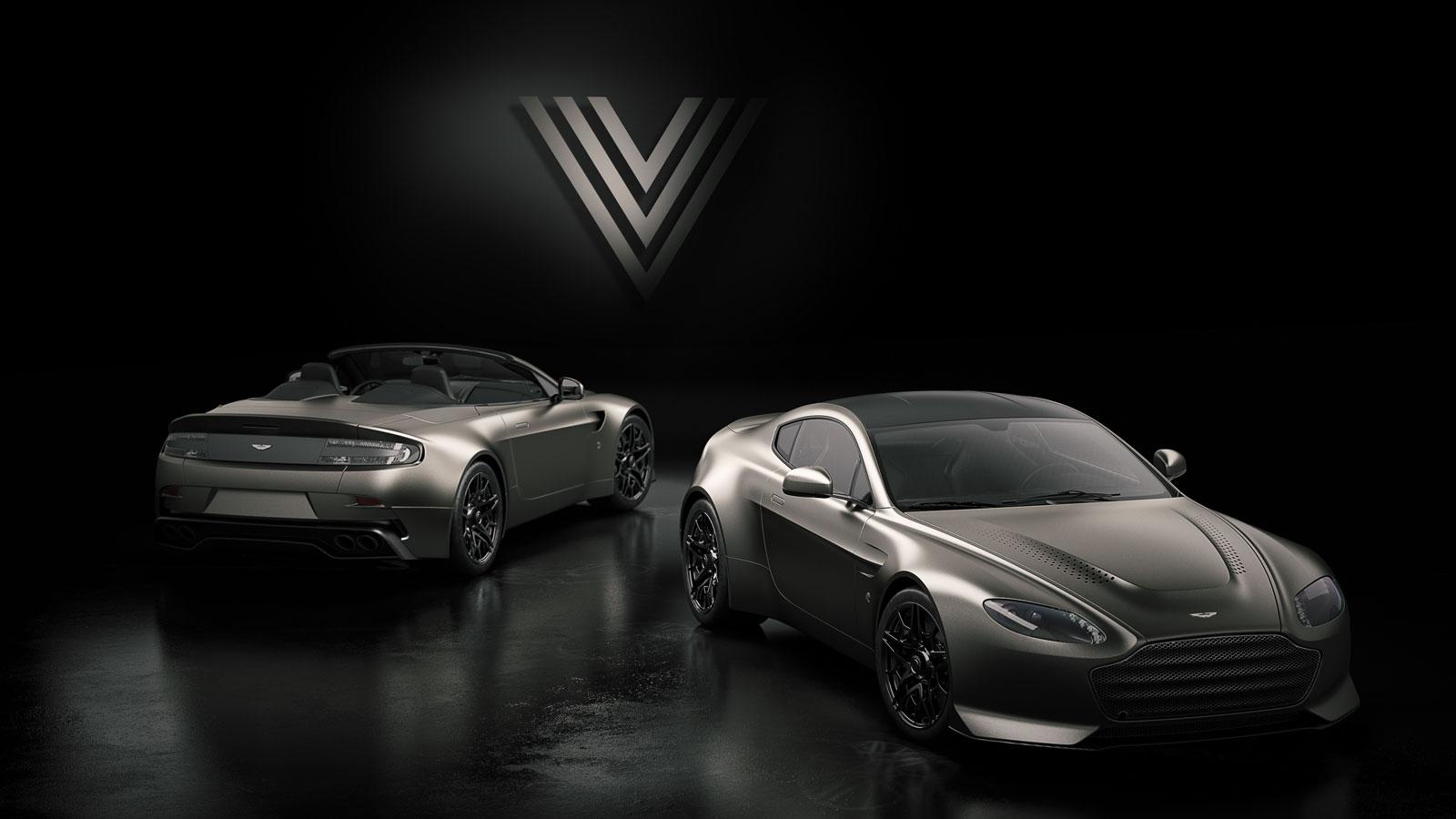 Aston Martin Vantage V600 Car Body Design