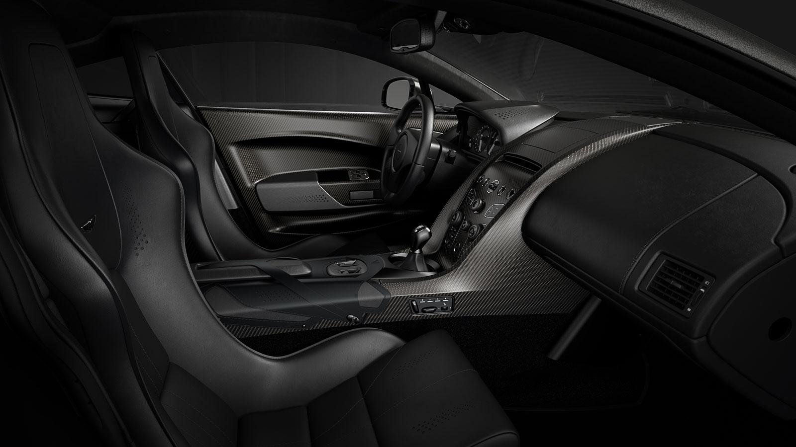 Aston Martin V12 Vantage V600 Interior Car Body Design