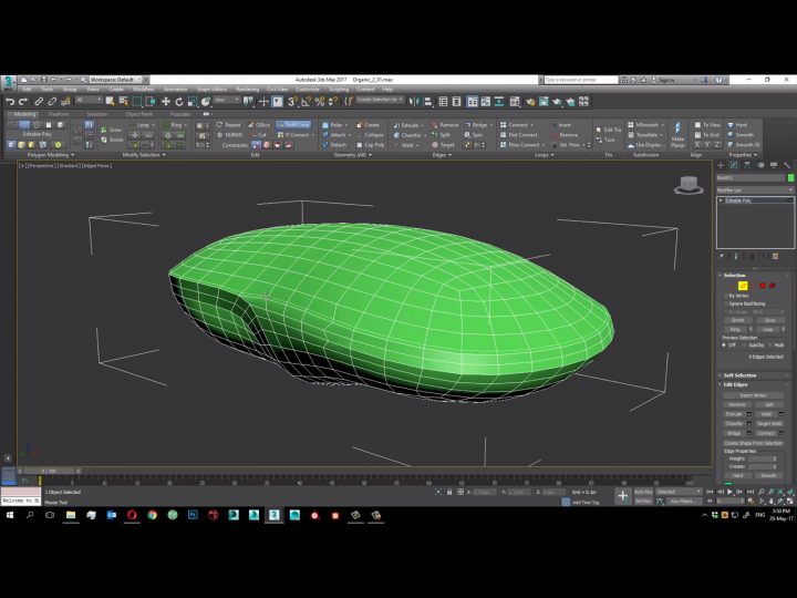 Hard Surface Modeling Timelapse Tutorial Car Body Design
