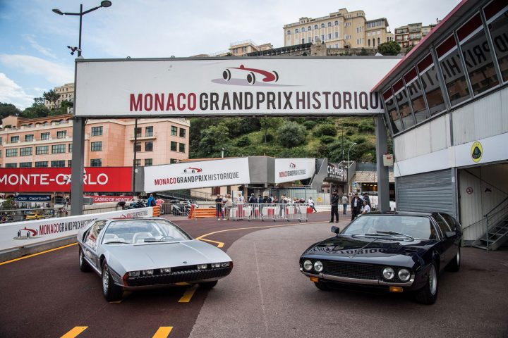Lamborghini Marzal Concept and Espada at Monaco Grand Prix Historique 2018