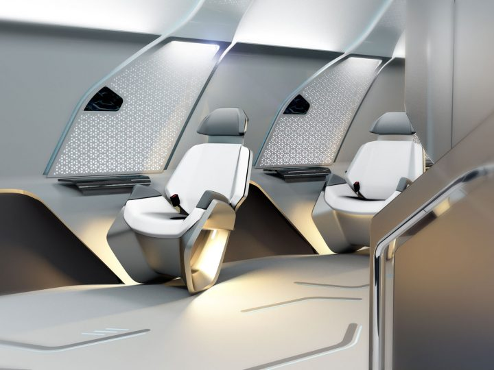 Virgin Hyperloop Interior Design by Designworks