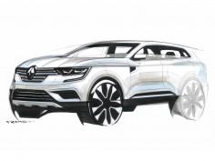 Renault Koleos: design gallery