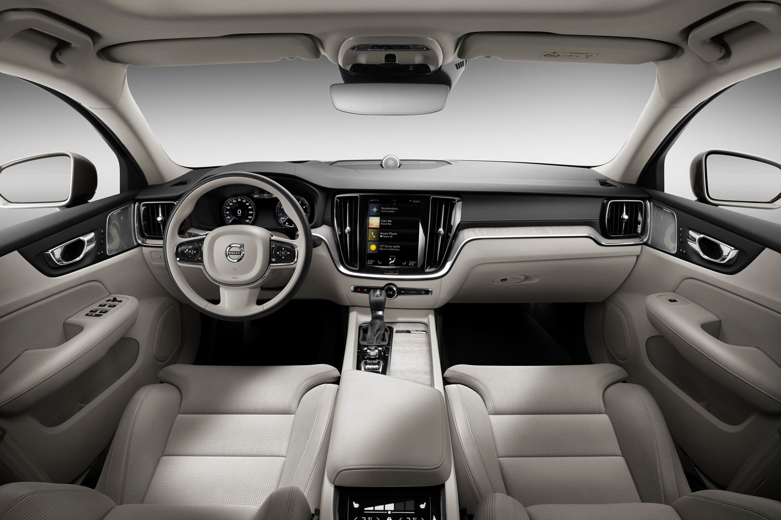 Volvo S60 Inscription Interior Design - Car Body Design