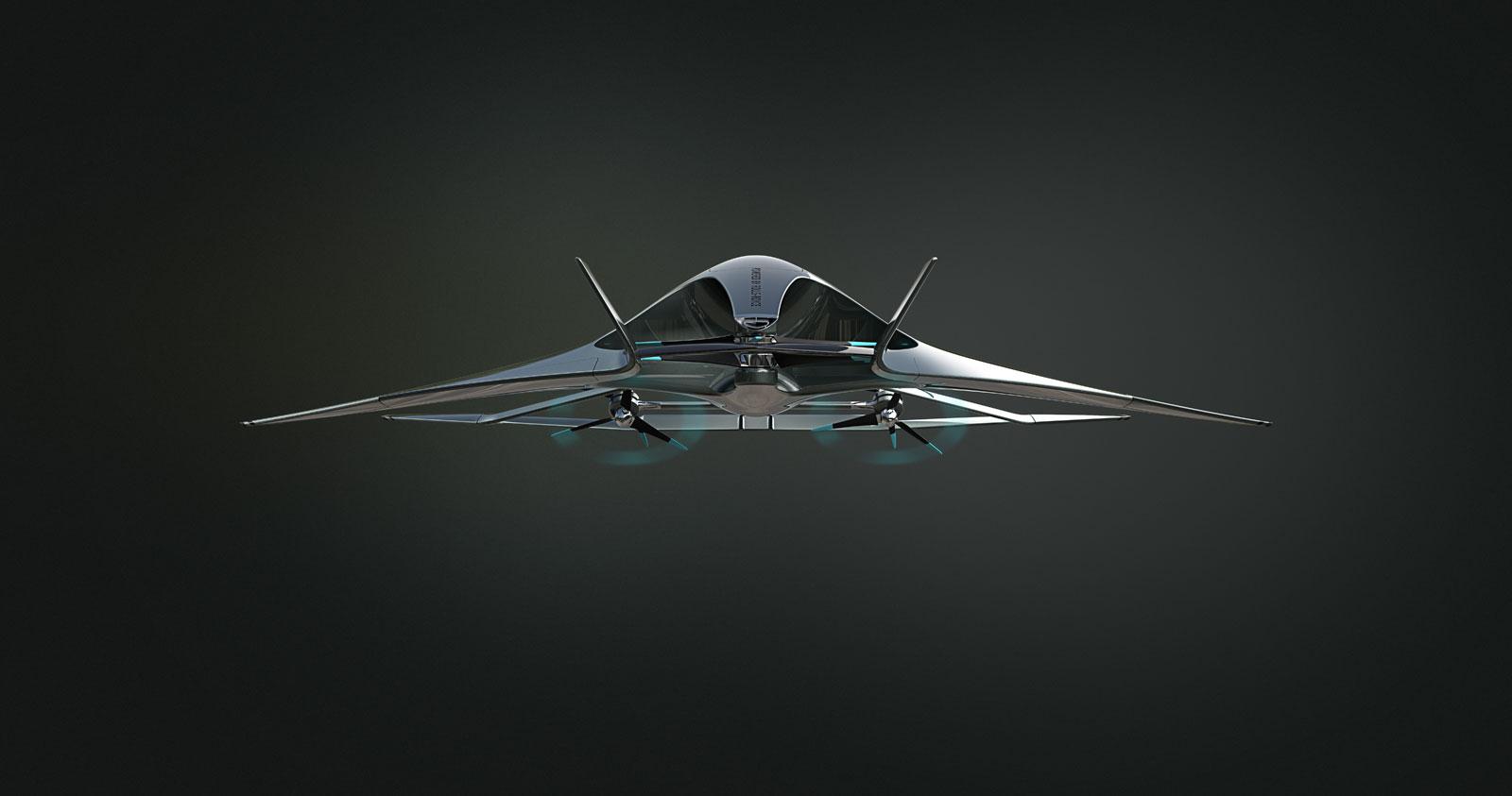 Aston Martin Volante Vision Concept Render Car Body Design