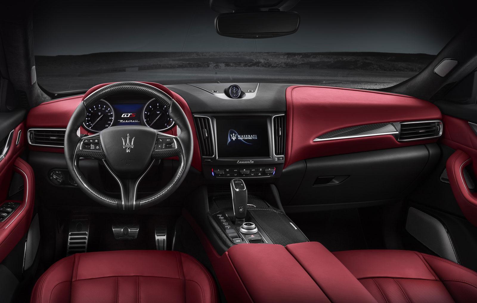 Maserati Levante Gts Interior Design