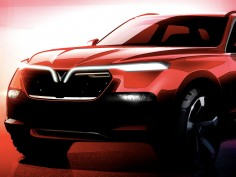 Vinfast previews SUV and sedan ahead of 2018 Paris Show debut