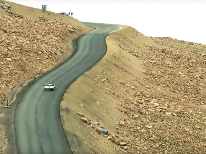 Watch Volkswagen I.D. R Pikes Peak's record run