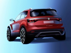 Volkswagen previews T-Cross compact SUV design