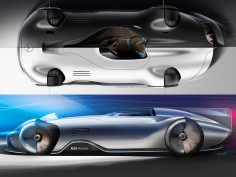 Mercedes-Benz Vision EQ Silver Arrow Concept: Design Gallery
