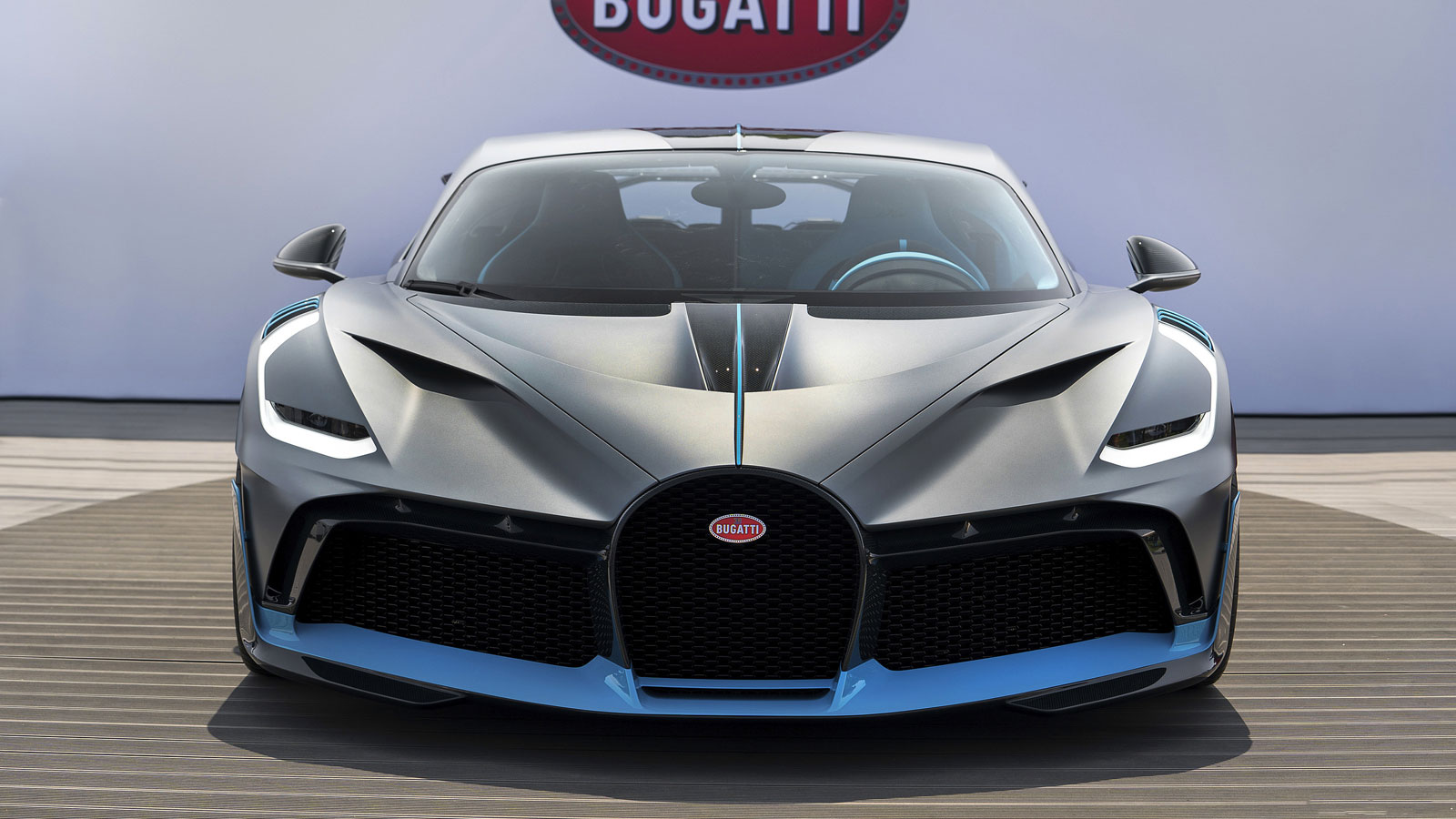 Bugatti Divo at Pebble Beach
