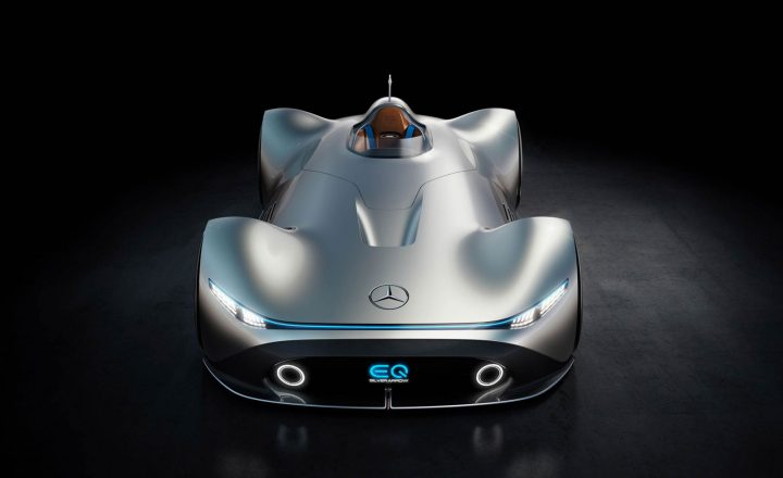 Mercedes-Benz Vision EQ Silver Arrow Concept Design Render