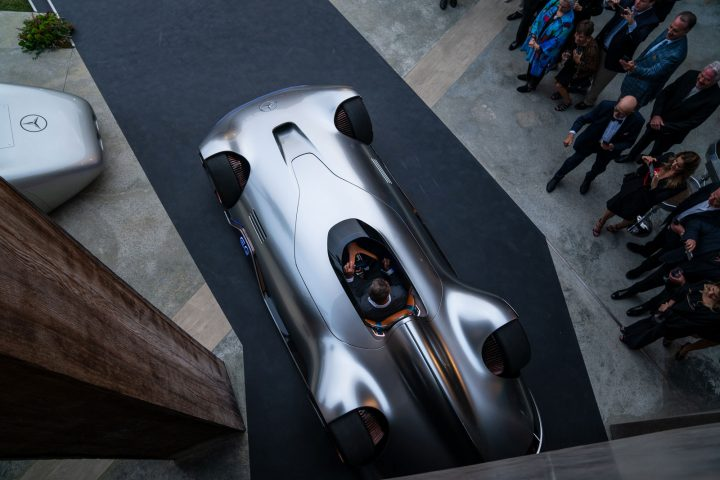 Mercedes-Benz Vision EQ Silver Arrow Concept at Pebble Beach
