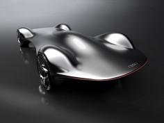 Futuristic Audi 1M1M Concept reinterprets legendary Streamliner