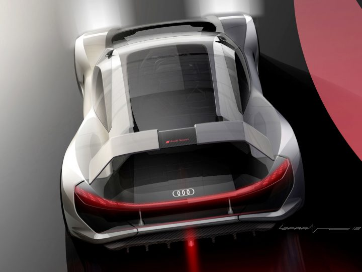 Audi PB18 e-tron Concept is a futuristic shooting-brake racer