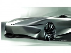 Infiniti reveals design sketch of upcoming Prototype 10 concept car