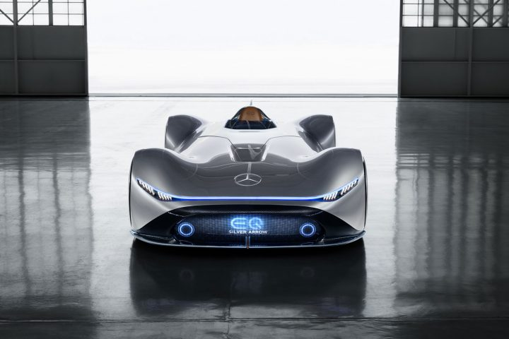 Mercedes-Benz Vision EQ Silver Arrow Concept