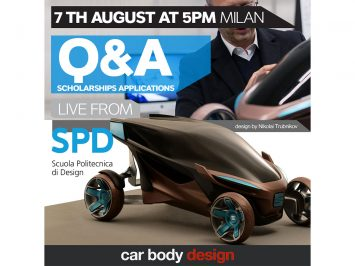 Live today at 5PM CET: Q&A Session on SPD Master in Car Design