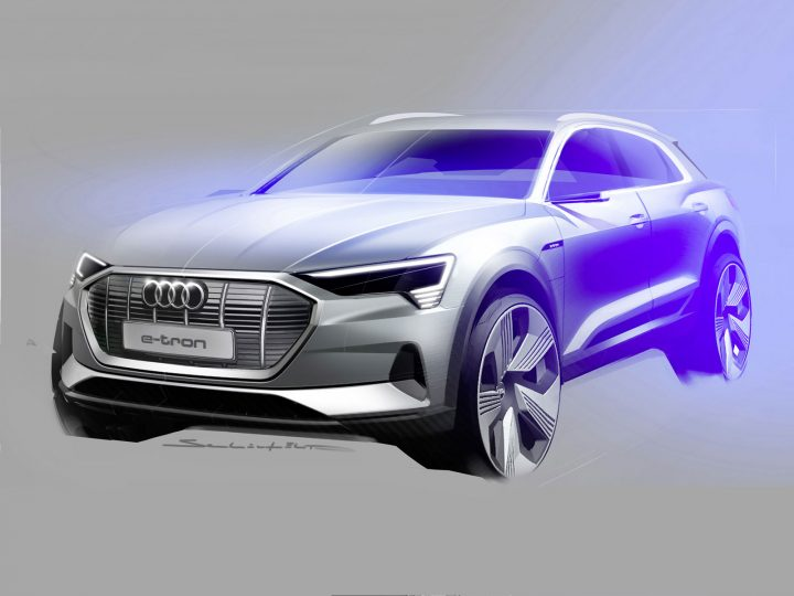 Audi reveals e-tron SUV, its first all-electric model