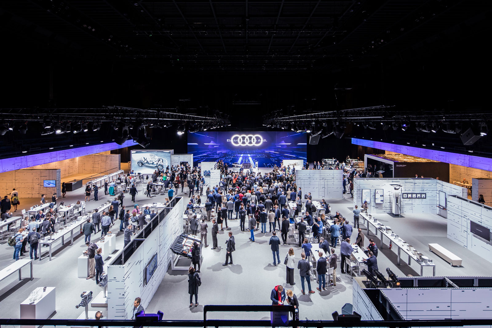 Audi e tron debut The Charge Event