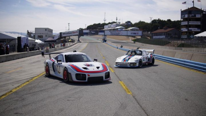 2018 Porsche 935 Cockpit 01 vs 1978 Porsche 935 78 Moby Dick