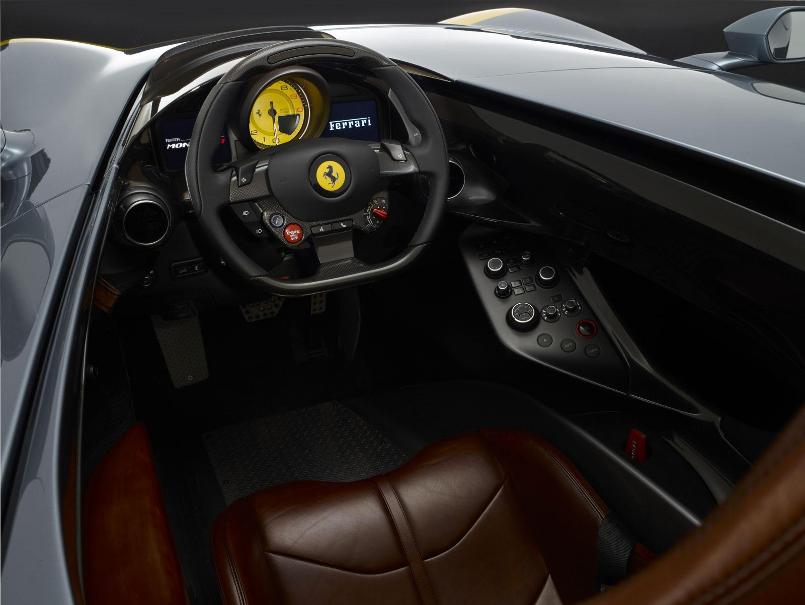 Ferrari Monza Sp1 Interior Car Body Design