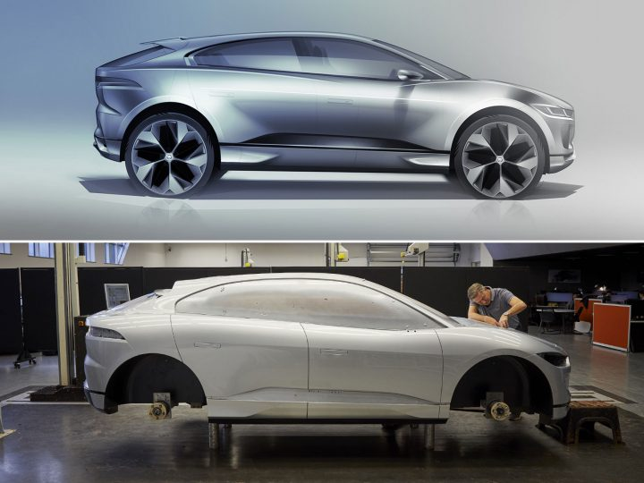 Jaguar creates I-PACE Clay Model for Scotland's first Design Museum