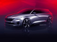 Škoda previews Vision RS Concept ahead of Paris debut