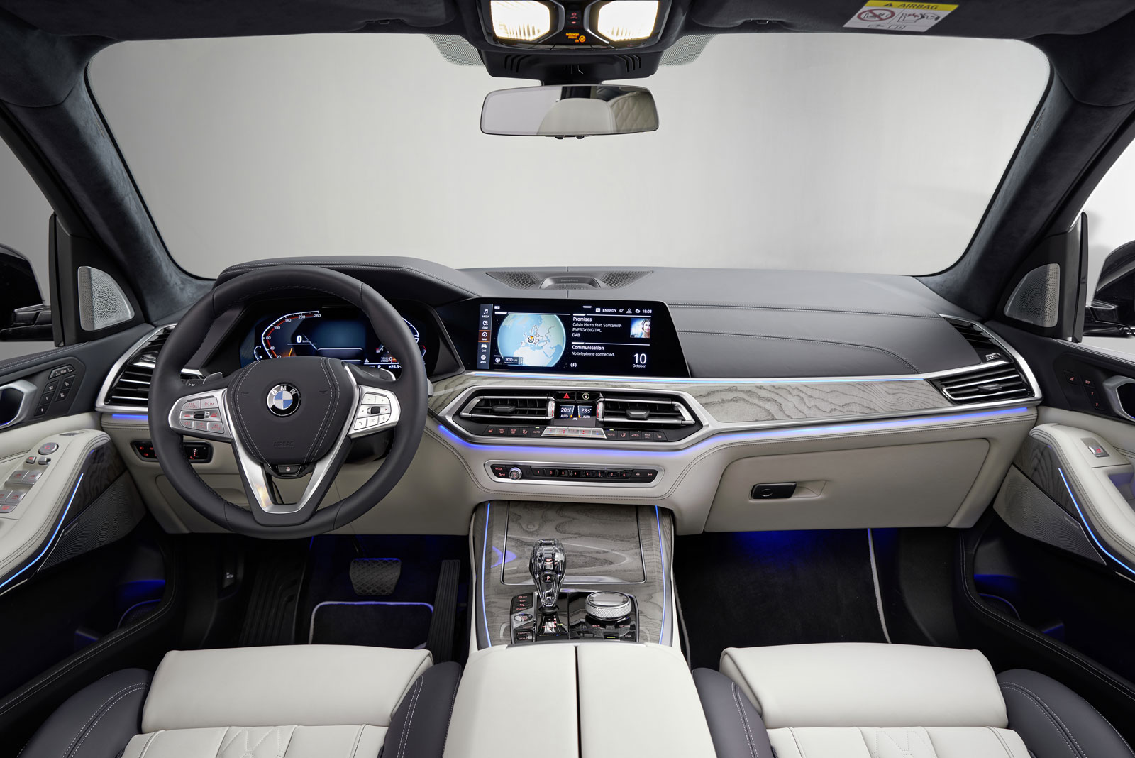 Bmw X7 Interior Car Body Design