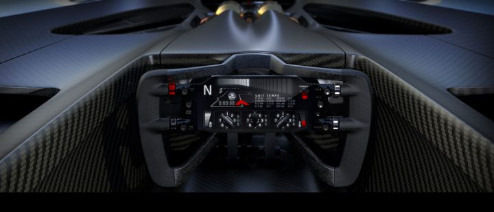 Holden Time Attack Concept Racer Interior Cockpit